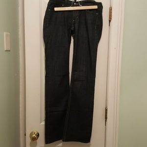 Habitual size 27 dark wash jeans